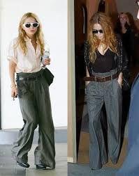 Resultado de imagen para pantalones anchos mujer elegantes