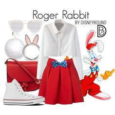 A fashion look from January 2017 by leslieakay featuring WithChic, Converse, KC Jagger, Kate Spade, Christian Dior, Oscar de la Renta, disney, disneybound and d...