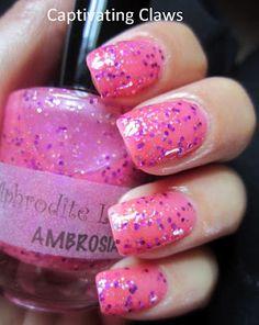 Captivating Claws: Aphrodite Lacquers Ambrosia
