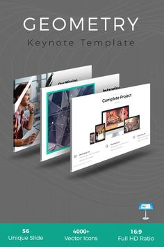 Geometry Keynote Template is Minimal Template, It's also a clean Design, Perfect for your any kind of business or personal uses. 750 Words, Logo Creation, Consulting Logo, Microsoft Powerpoint, Goods And Services, Clean Design, Keynote Template, Presentation Templates, Design Bundles