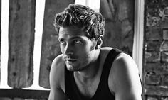 "Jamie Dornan: ""'I'm quite hyper. My wife would prefer it if I just sat down and read a book': Jamie Dornan working out"". Photograph by Alex Bramall for the Observer Magazine, November 2, 2014 Issue. Read Jamie Dornan interview on http://www.theguardian.com/tv-and-radio/2014/nov/02/jamie-dornan-the-fall-fifty-shades-of-grey"