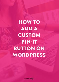 Anyone who is active on Pinterest will tell you that it's their #1 traffic source. Here's how to add a custom pin-it button on WordPress.