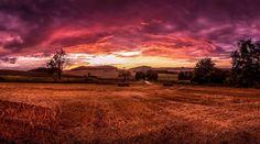 Burning sky by Michal Vávra on 500px