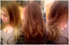 More cool blonde tone balyage added to hair that already had balyage highlights