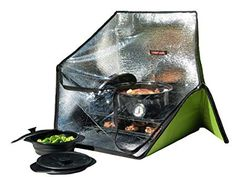 Sunflair Portable Solar Oven Deluxe with Complete Cookware, Dehydrating Racks and Thermometer Review