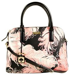 9252d7d5a3 Kate Spade Sale Small Rachelle Black Pink Turquoise Satchel. Save 40% on the  Kate