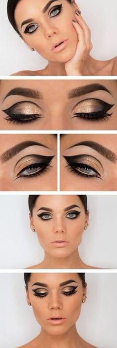 Eye Makeup Tips.Smokey Eye Makeup Tips - For a Catchy and Impressive Look Love Makeup, Makeup Inspo, Makeup Inspiration, Makeup Tips, Makeup Looks, Hair Makeup, Makeup Ideas, Makeup Tutorials, Eyeshadow Makeup