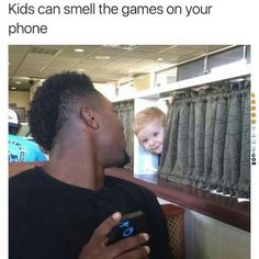 Kids can smell games