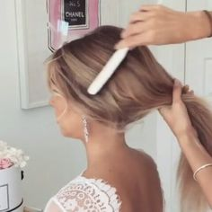 Tag a friend! 🌟 @videosfast • WATCH more on 💇 ↠ @videosfast 〰 @videosfast by: @ulyana.aster . . . ⠀⠀ ⠀⠀ ⠀ #haircolor #video #tutorial #videos #hair #hairstyle #haircut #hairdresser #inlove #cabelo #hairstyles #hairdo #hairstylist #haircolour #hairfashion #haircare #hairdye #braid #braids #color #colors #colorful #inspire #instavideo #blonde #blondie #blondehair #longhair #blond