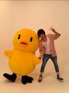 Aoi Shouta and piyo-chan