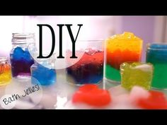 Hi there! In this video I will show you how to make fun looking bath jellies!  They work just like body wash, the only difference is they look like jello.  These jellies will make fun gifts for Easter or upcoming showers.  Make them for yourself, kids, or friends! Enjoy :) Please THUMBS UP & COMMENT BELOW to keep supporting my videos!!! Love you...