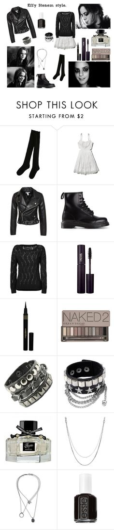 Effy Stonem style/LOOK # 62 by emilysfashionblog-xo on Polyvore featuring Abercrombie & Fitch, rag & bone, NLY Trend, Dr. Martens, Maison Margiela, Christofle, Urban Decay, INIKA, Napoleon Perdis and Gucci