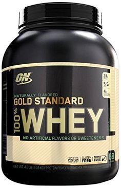 Optimum Nutrition Gold Standard Natural Whey Vanilla -- 5 lbs