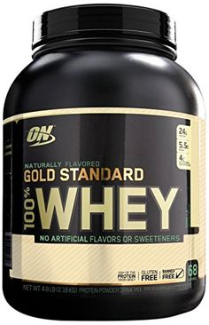 Optimum Nutrition 100% Whey Gold Standard Natural Whey, Vanilla, 4.8 pounds >>> Check out the image by visiting the link.