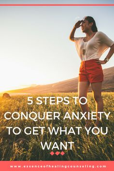 Is anxiety getting in the way of what you want? Learn 5 steps to beat it and start achieving.