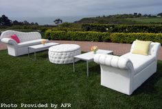 Get event design inspiration from our gallery of modern and sleek event furniture rentals. Furniture for rent for Los Angeles events, Las Vegas events and more. Lounge Furniture, Outdoor Furniture Sets, Reception Furniture, Furniture Ideas, Wedding Lounge, Dream Wedding, Garden Wedding, Wedding Reception, Salas Lounge