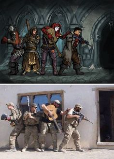 Darkest Dungeon: Image Gallery (Sorted by Score) Character Concept, Character Design, Geeks, Dnd Funny, Dungeons And Dragons Memes, Dragon Memes, Darkest Dungeon, Military Humor, Squad