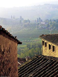Beautiful San Gimignano, Tuscany, Italy