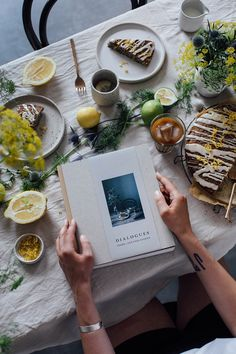 Dialogues the Book / Our Food Stories X Frama Cph
