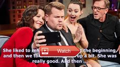 Tim roth maggie gyllenhaal share their best madonna stories on 'late late show'  Tim roth maggie gyllenhaal share their best madonna stories on 'late late show' Terence PatrickCBS Maggie Gyllenhaa