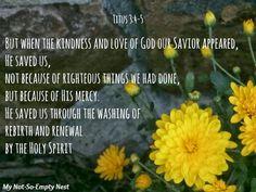 titus 3:4-5 - Google Search