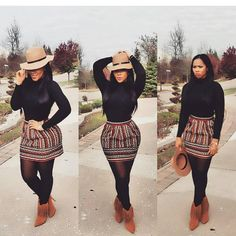 casual outfits for funeral best outfits - Anziehsache - Fall outfits Black Girl Fashion, Curvy Fashion, Look Fashion, Autumn Fashion, Plus Size Fashion, Chic Outfits, Fashion Outfits, Womens Fashion, Fashion Trends