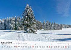 Fotokalender Thüringer Landschaften 2016, Februar