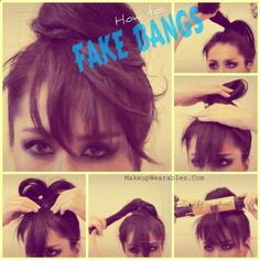 Where has this been all my life | 29 Hairstyling tricks Every Girl Should Know .