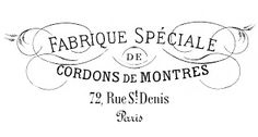 For table Iron on Transfer- French Typography – Swirls