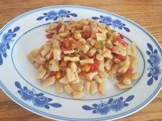 Konjac salsa pasta gluten free recipe - oat konjac rigatoni