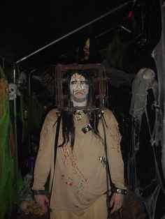 our 2010 haunted house with ideas from