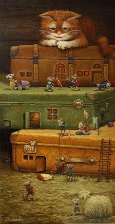 Чемоданная жизнь картина А.В.Маскаева