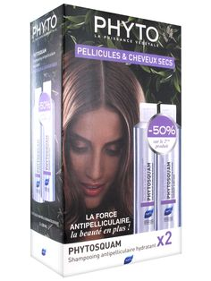 Phyto Phytosquam Anti-Dandruff Moisturizing Shampoo 2 x 200ml