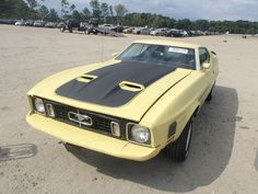 #Classic 1973 FORD MACH 1 with VIN: 3F02H256748