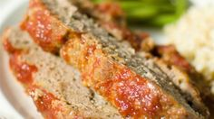 This brown sugar meatloaf is glazed with brown sugar and ketchup for a moist and flavorful weeknight dinner.