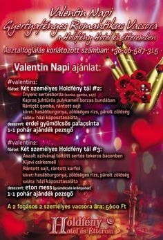 Valentin-napi vacsora 2020. Gyertyafényes romantikus vacsora a Holdfény Hotel és Étteremben #szallas #pihenes #mitcsinaljak #Magyarorszag #romantika #randiotletek #randi #randevu #szerelem #kapcsolat #utazas Valentino