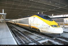 High quality photograph of Eurostar Class 373 Eurostar. # 3020 at London. Uk Rail, High Speed Rail, British Rail, Speed Training, London Transport, London United, Locomotive, Railroad Tracks, Passport
