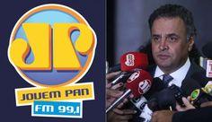 Ministério Público pede o fim da Jovem Pan BH por ter pertencido a Aécio Neves - BHAZ