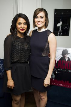the blacklist new twitter photos | MEGAN BOONE at An Evening with the Blacklist - HawtCelebs