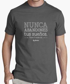 Camiseta Nunca abandones tus sueños... duerme 15 minutos más. #humor #camiseta