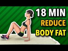 Let's make that body fat cry! In only 18 minutes per day you can perform a full-body workout training at home, that will help you burn off calories, reduce b. Gym Workout Videos, At Home Workouts, Body Workouts, Short Workouts, 20 Minute Workout, Reduce Body Fat, Body Brushing, Fitness Workout For Women, Weight Loss Program