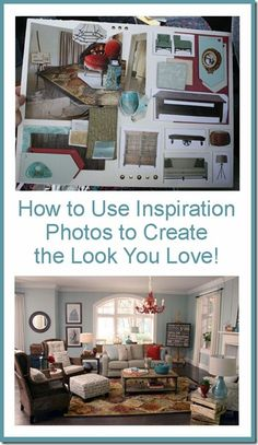 How to use inspiration photos to get the look! remodelaholic.com #home #interior_design