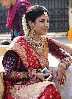 Beautiful traditional classy look