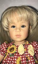 Gotz Doll Eileen 17 1/2 'Collection Gotz Doll 2001