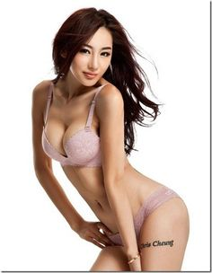 Knowledge Of Pageants: Chinese model Jin Meixin sexy lingerie photo