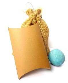 100 Kraft Pillow Favor Boxes / Wedding Favor Box by ThePaperBazaar, $38.87