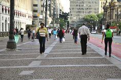 como a calçada torna as pessoas mais ativas