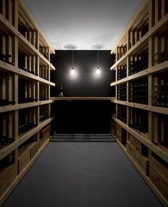 Winery in home in Lisbon | © FG + SG - Fernando Guerra, Sergio Guerra