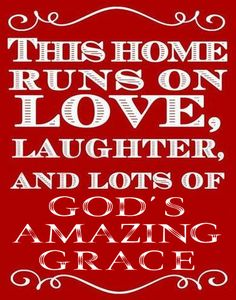 This home runs on love, laughter, and lots of God's amazing grace.