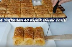 Best All Time Cake : 4 Yufkadan 40 Person Pastry Recipe, Pastry Recipes, Turkish Recipes, Easy Cake Recipes, Recipe For 4, Tea Time, French Toast, Brunch, Food And Drink, Cooking
